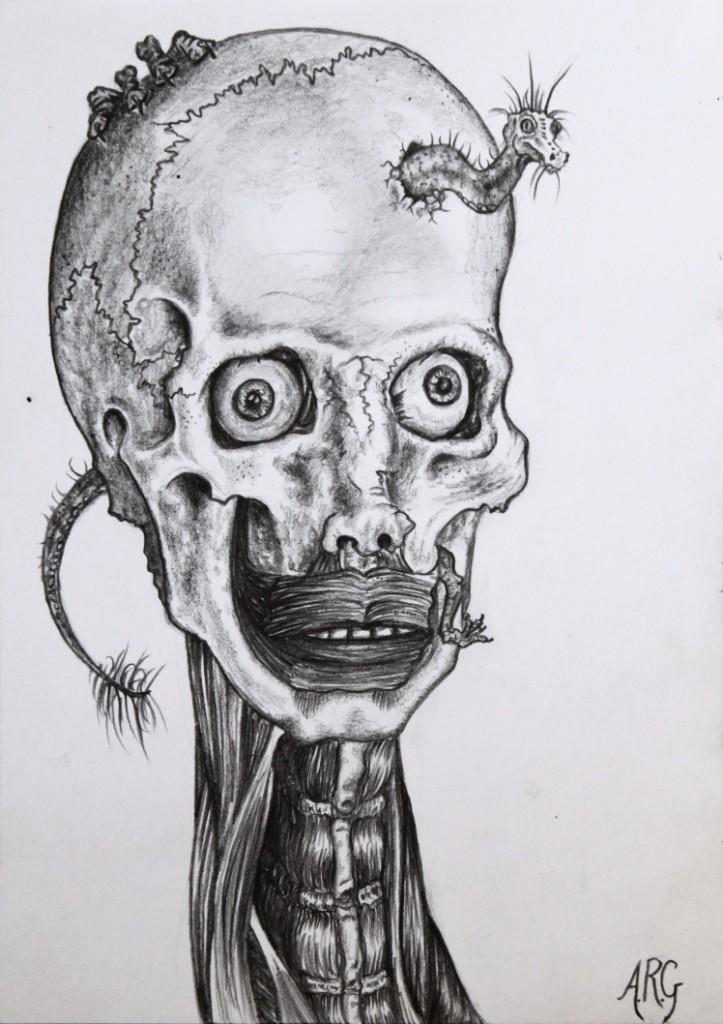 Surreal drawing